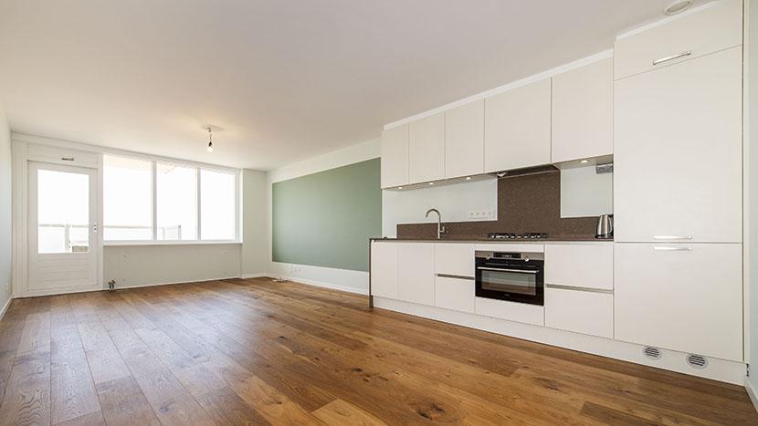complete renovatie van appartement scheveningen