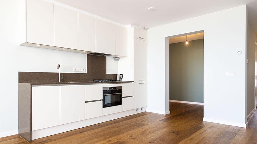 nieuwe keuken in appartement zeekant scheveningen