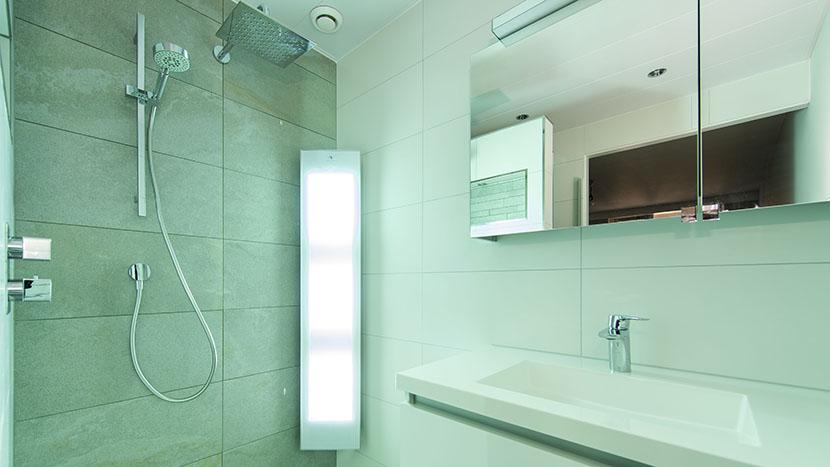 renovatie resultaat van badkamer zeekant scheveningen