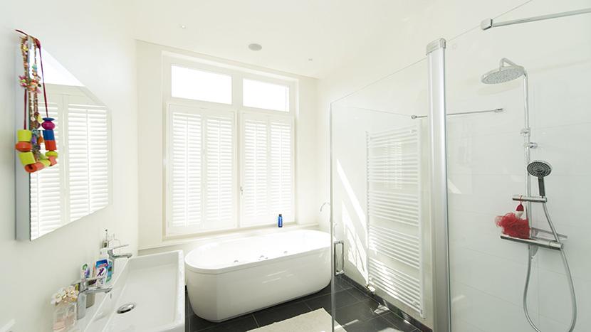 resultaat renovatie badkamer archipelbuurt
