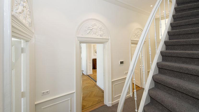 resultaat van trapgat renovatie laan copes van cattenburch