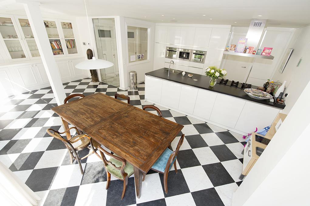 volledig vernieuwde keuken laan copes van cattenburch