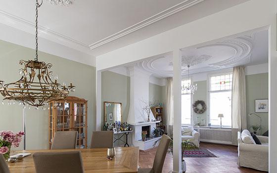 resultaat plafond restauratie reinkenstraat duinoord