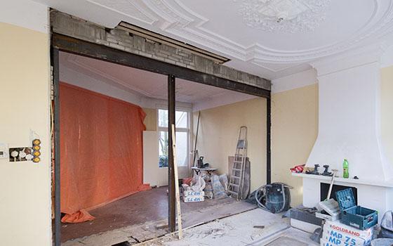verbouw etage reinkenstraat duinoord